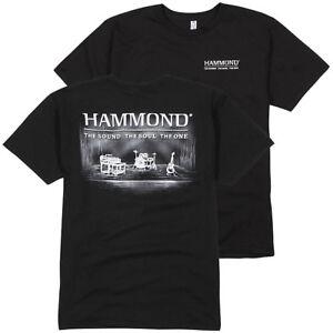 Constructif Orgue Hammond Power Trio T Shirt (large) Dernier Dans Cette Taille!-afficher Le Titre D'origine