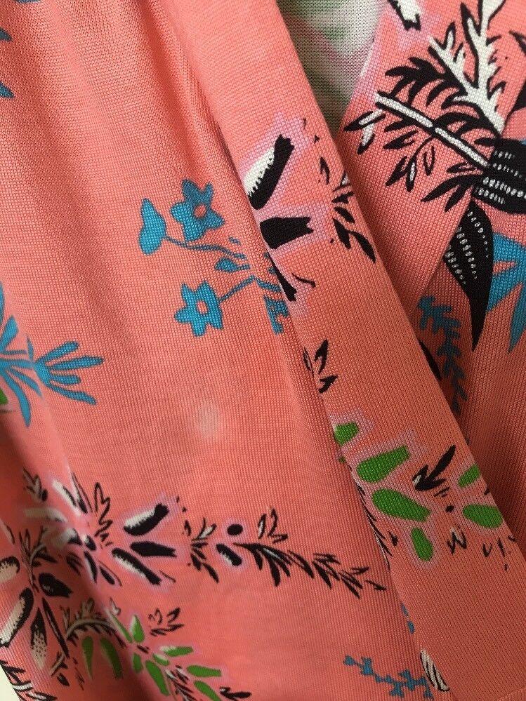 DIANE VON FURSTENBERG Avalon Hyacinth Floral Floral Floral Shawl Collar Maxi Wrap Dress 4  698 b01244