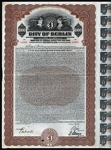 1928-Deutschland-City-of-Berlin-1000-External-Gold-Bond-with-coupons