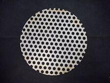 Laboratory 140mm Perforated Metal Aluminum Dry Seal Vacuum Desiccator Plate