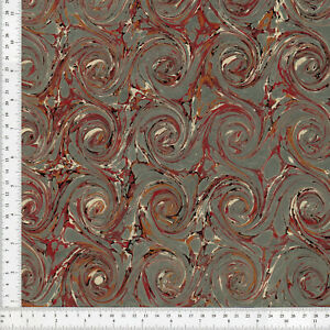 Hand-Marbled-Paper-for-Bookbinding-and-Restoration-60x86cm-24x34in-Series-c267