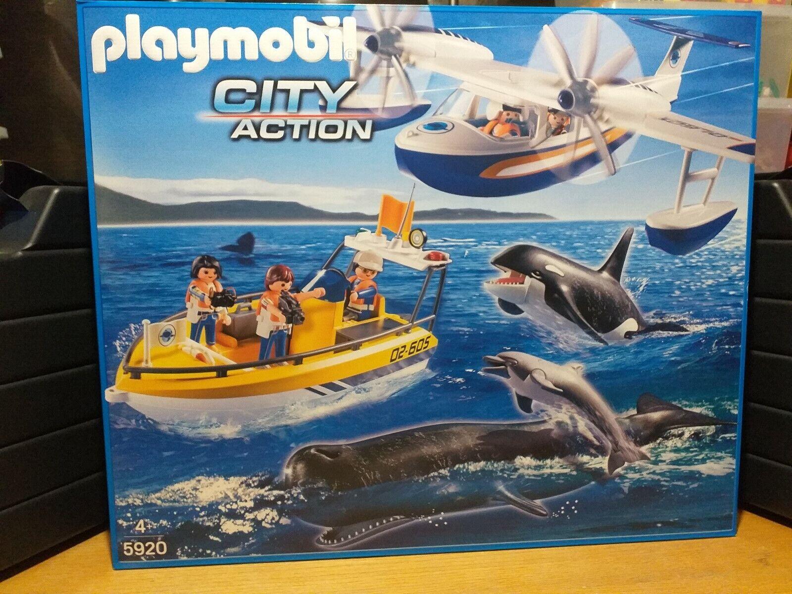 Playmobil 5920 City Action Observation marine (Neuf & Scellé)