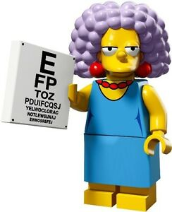 The-Simpsons-2-Lego-collectible-minifig-Selma-Bouvier-eye-chart