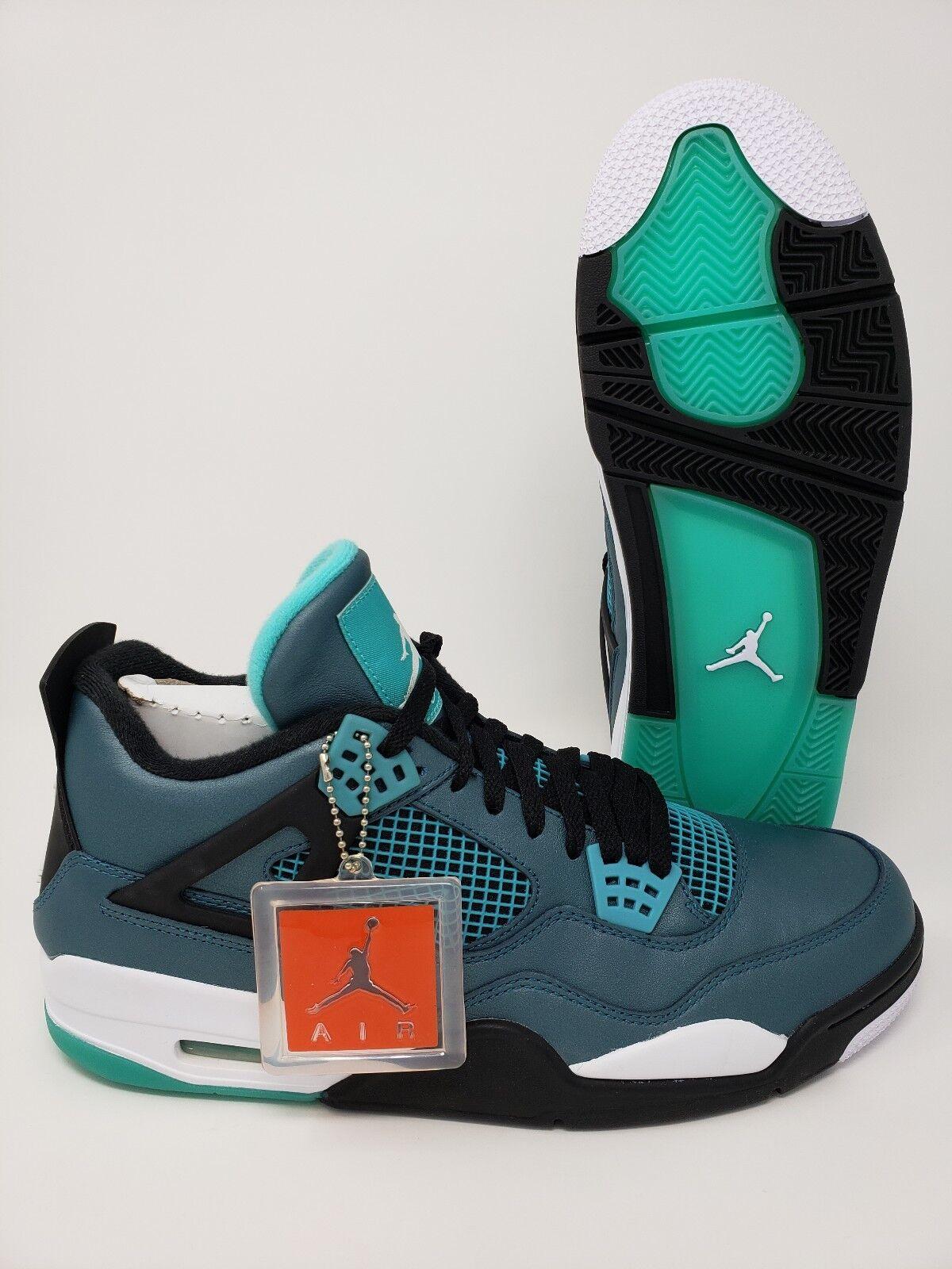Jordan 4 Retro 30th Air Anniversary verde Azulado DS Hombre En Caja Nueva