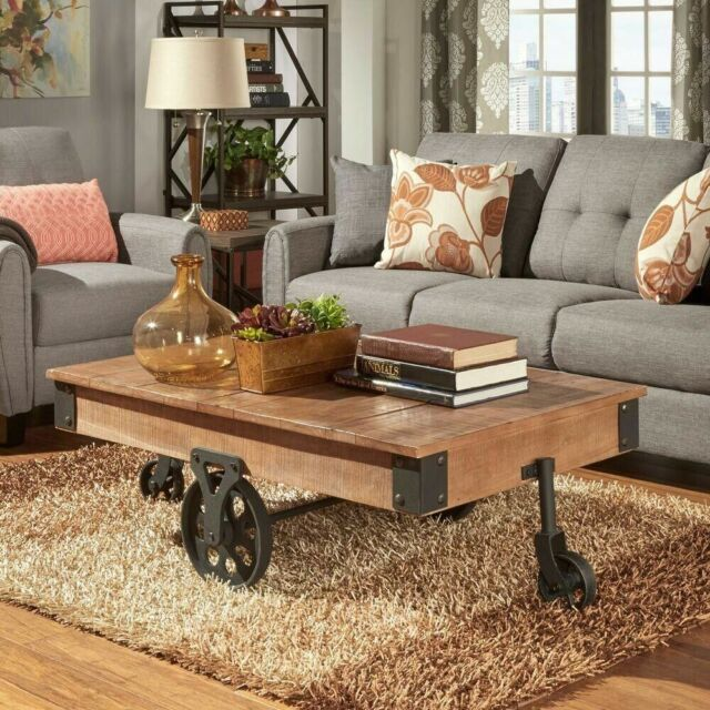 Style Living Room Furniture Rustic