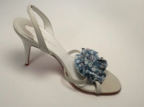 Pastel L'autre con Chose floreali Heels dettagli Blue O n8EBpdwzq8