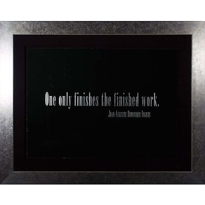 Joseph Kosuth  - Titled Quotation (Leo Castelli 90th Birthday), Framed