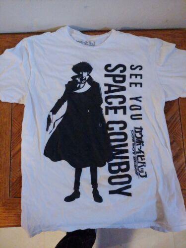 Cowboy Bebop See You Space Cowboy T Shirt (Men, Me