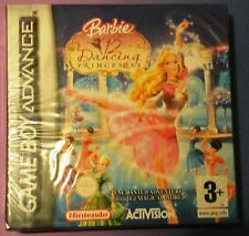 BARBIE IN THE 12 DANCING PRINCESSES GAMEBOY ADVANCE GBA DS LITE GAME NEW SEALED
