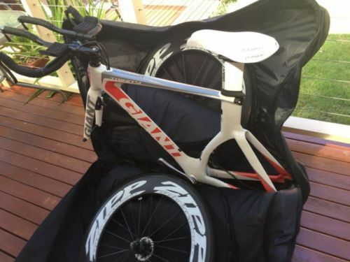 2×2 Quick Fit Aero-comfort Bike Travel Bag for Triathlon Bikes and Road Bikes