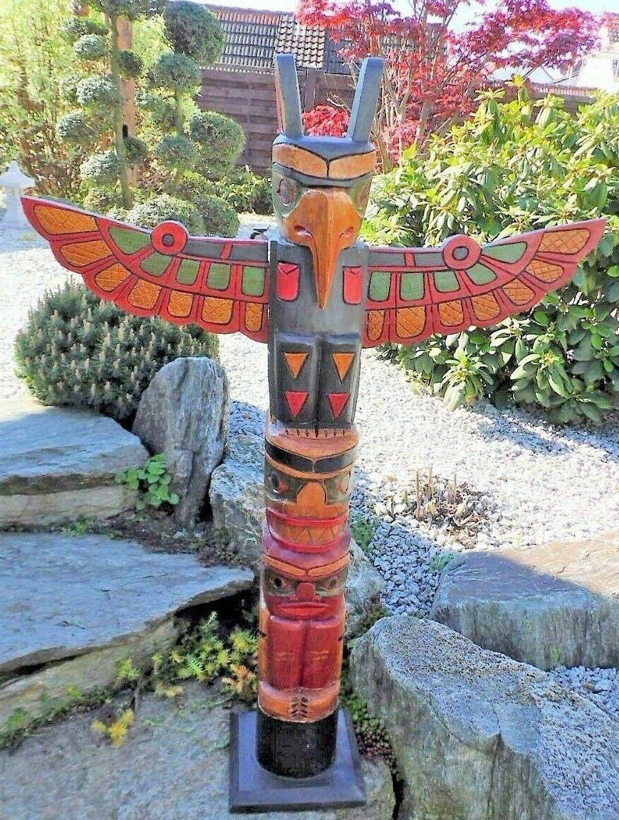 Tótem 100cm, marterpfahl, indianerpfahl, wappenpfahl, Totem polos, Totem discriminaciùn