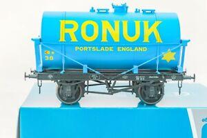 Dapol-O-Gauge-7F-058-006-14Ton-SWB-039-Class-A-039-Tanker-Wagon-039-Ronuk-039-Portslade