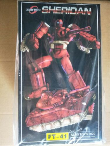 Transformers FansToys FT41 FT-41 Sheridan G1 Warpath Action figure Toy in stock
