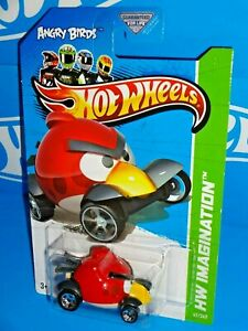 Hot Wheels Angry Birds HW Red Bird Imagination 47//247 2012 long card
