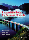 Research Methods for Business Students by Mark N. K. Saunders, Philip Lewis, Adrian Thornhill (Paperback, 2006)
