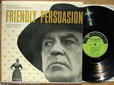 FRIENDLY PERSUASION - LP  Soundtrack UNIQUE 110  D. Tiomkin W. Wyler Gary Cooper
