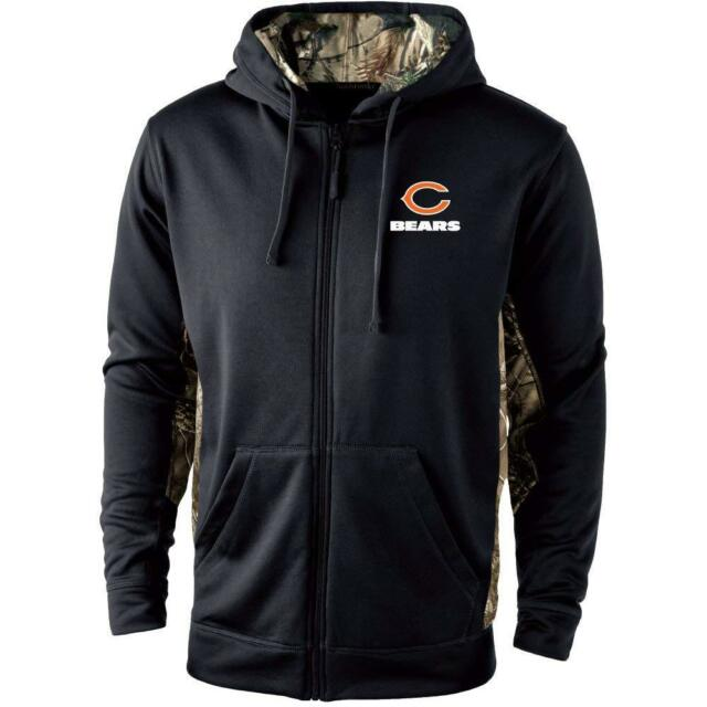 Dunbrooke Apparel NFL Chicago Bears Mens 5411 Decoy Camo Accent Full ... 5fd753781