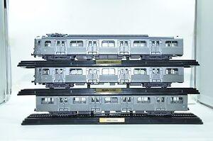 1953 Atlas modèle 1/87 Train jouet Z-5100 2434007 2434008 2434009 ensemble (3pcs)