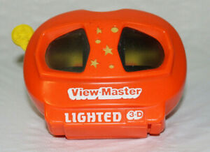 Lighted-3-D-View-Master-Vintage-3D-View-Master-Vintage-Retro-L244-Tyco-Toys-Red