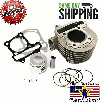 Cylinder kit for Kymco People 125cc 152QMI scooter GY6 125 KDU (57 4mm)    eBay
