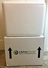 Large Insulated Cold Pack Shipper Box Styrofoam Cooler Cold Frozen Medical Camp