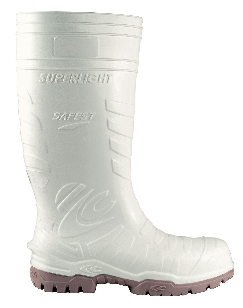 Cofra más segura Blanco Comida con industria Botas De Agua con Comida COMPOSITE PUNTERA 47ff4e