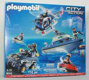 playmobil polizei, playmobil polizei set mit
