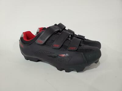 Indoor Cycling Tommaso Terra 100 Womens Mountain Biking Road Cycling SPD Compatible Shoe Spin Black//Red 40