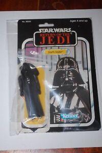 Darth Vader-star-loose Wars-Le retour du Jedi-vintage-avec 77 Dos