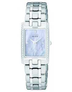 Citizen Eco-Drive EG3170-54D 34 Diamonds Solar Ladies Watch NEW RRP $899.00
