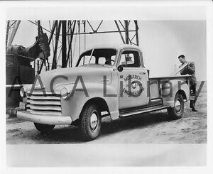 Image Is Loading 1953 Chevrolet Model 3104 Pickup Truck Oil Rig