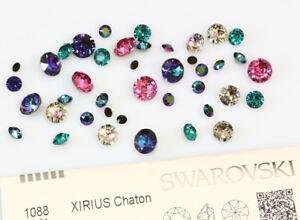 f972196e3 Image is loading Genuine-SWAROVSKI-1088-XIRIUS-Chaton-Round-Stones-Crystals-