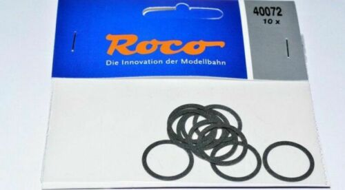 Roco H0 40072 Ersatz Haftreifen 10 Stück  NEU in OVP Gummireifen Haftringsatz