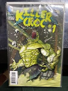 Batman and Robin #23.4 NM+ Killer Croc 3D Lenticular Cover (2013) The New 52