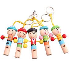 1 Kinder Holzspielzeug Lernspielzeug Tier Flöte Pfeifen Baby Spielzeug Niedlich