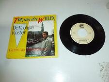 """TON VAN DER WIELEN - De Vrolijke Koster - 1986 Dutch 7"""" Juke Box Vinyl Single"""