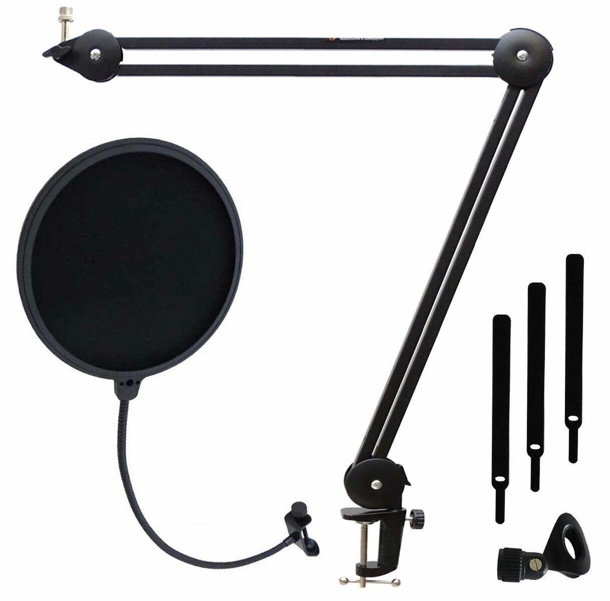 Keep DRUM MS138 mikrofonarm Tripod Articulated Arm + Popschutz POPFILTER