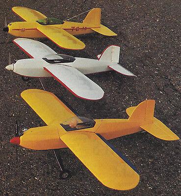 Turbulent City 10 Aerobatic Sport Plane Plans, Templates, Instructions 36ws