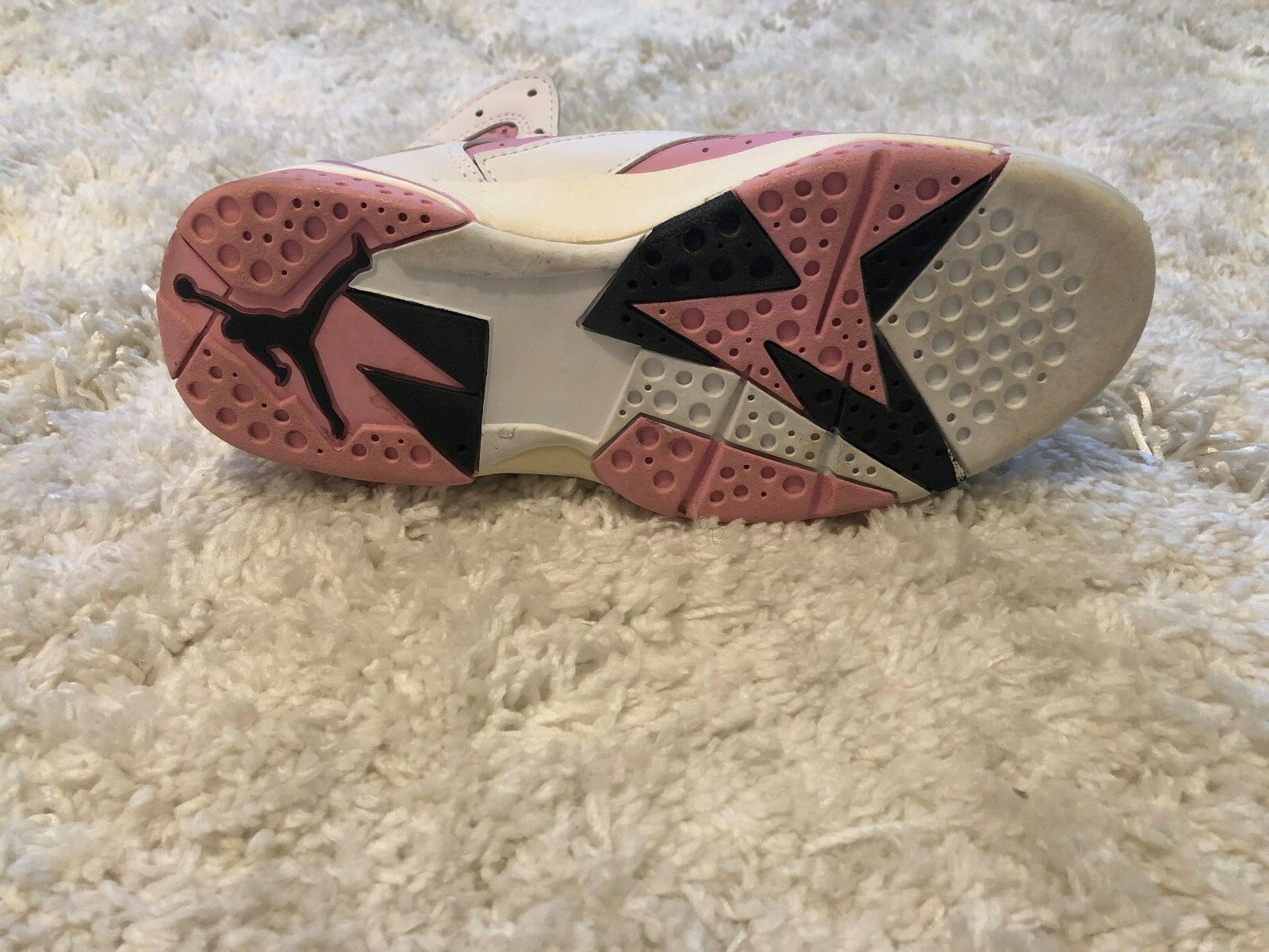 Air Jordan 7 retro Donna  Dimensione Dimensione Dimensione 7.5 rosa and bianca Very good condition 6f10de