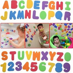Bath Toy Foam Letters And Numbers NO Toy Storage Net Organizer Kids Baby Gift JF