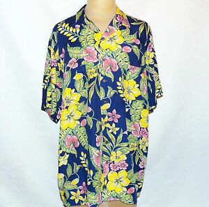 Image is loading Polo-Ralph-Lauren-Hawaiian-Tropical-Floral-Hibiscus-Aloha- 6795647f8cfa