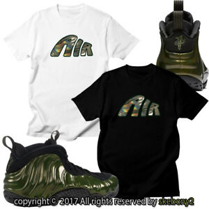 hot sale online f43c4 62309 Image is loading NEW-AIR-FOAMPOSITE-PRO-LEGION-GREEN-MATCHING-CUSTOM-