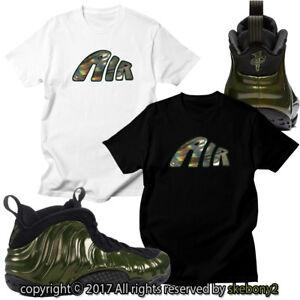 hot sale online b6951 0b79b Image is loading NEW-AIR-FOAMPOSITE-PRO-LEGION-GREEN-MATCHING-CUSTOM-