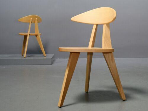 1 von 2 Dreibein-Stuhl von Walter Papst, Wilkhahn, Modell 360/3 1954 Re-Edition