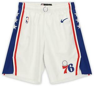Matisse Thybulle 76ers GU #22 White Shorts from the 2019-20 NBA Season - Size 38