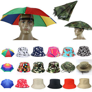 Bucket Hat Boonie Hunting Fishing Outdoor Floral Solid Cap Women Men ... 59026c4e7a1f