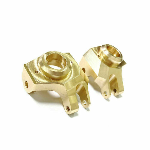 2PCS Brass Heavy Front Steering Cup Knuckle For 1//10 RC Car Axial SCX10 II 90046