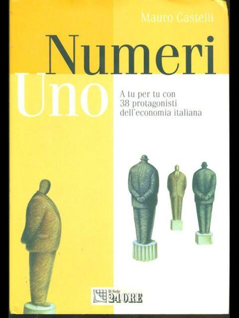 NUMERI UNO  MAURO CASTELLI IL SOLE 24 ORE 2002