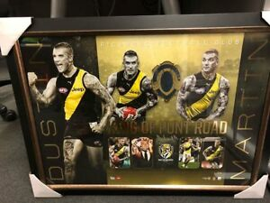 Details about Dustin Martin Richmond Football Club King of Punt Road Signed  Framed Print