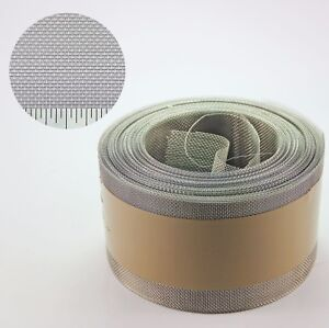 Stainless Steel Insect Mesh Roll 50mm x 20 Metre #22 0.96mm Hole x 0.22mm Wire
